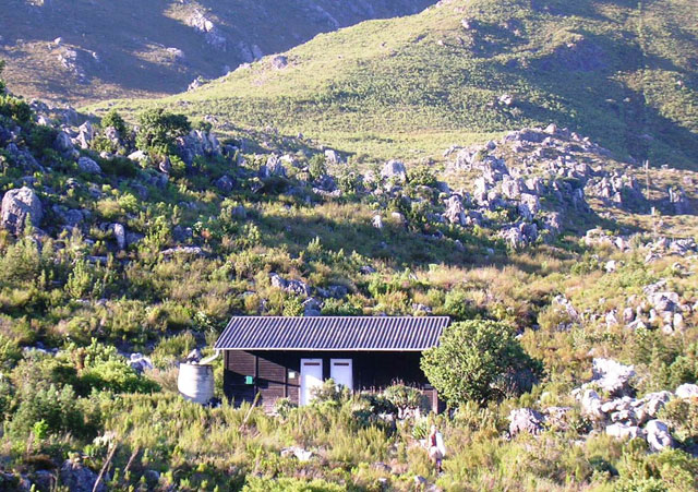 5 Favourite Hiking Trails in Stellenbosch- hut on the Boland Trail