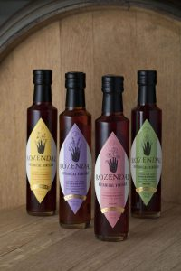 The range of Rozendal Botanical Vinegars