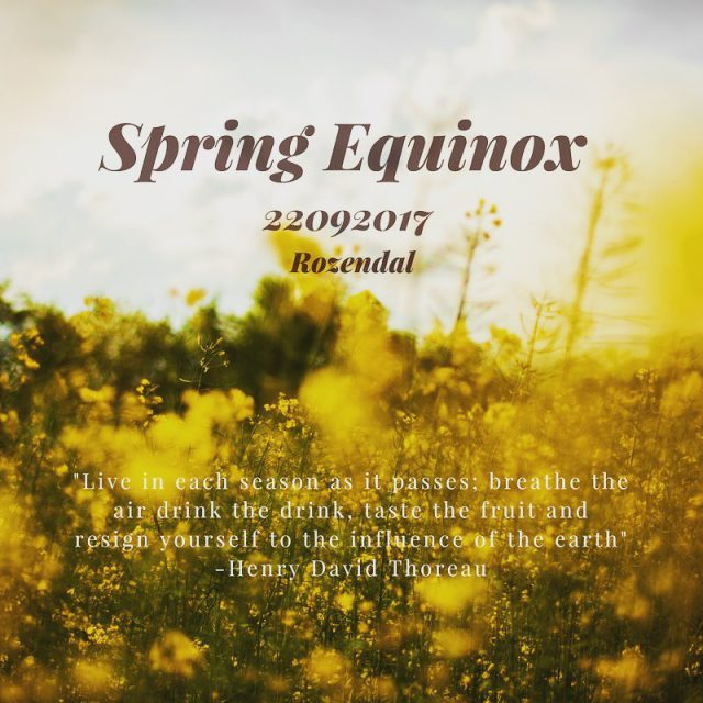 True Spring is herehappy Spring Equinox! Join us in celebratinghellip