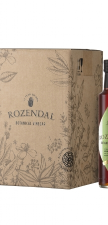 Rozendal 9 Bottle Case Green Tea Vinegar