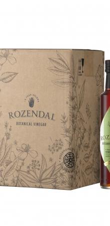 Rozendal 9 Bottle Case Green Tea Vinegar