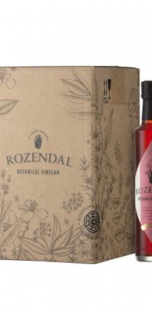 Rozendal 9 Bottle Case Hibiscus Vinegar