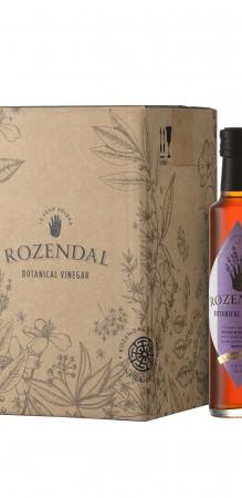 Rozendal 9 Bottle Case Lavender Vinegar