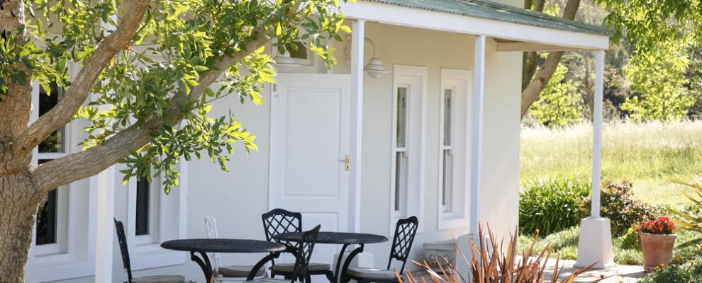 Rozendal Guesthouse Stellenbosch outdoor relaxation