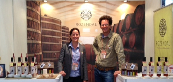 Big in Japan: Rozendal Vinegar at Foodex Japan 2013