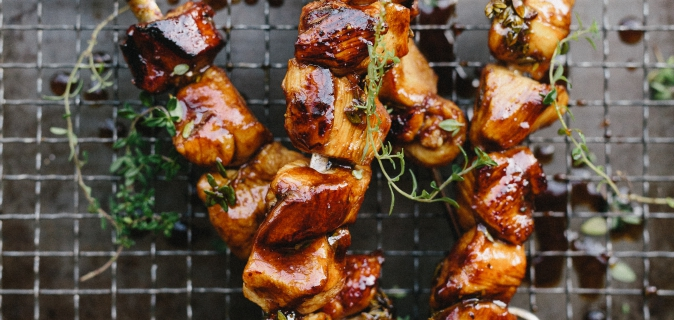 Fynbos Marinated Chicken Skewers Recipe