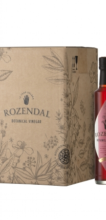 Rozendal 9 Bottle Case Hibiscus Vinegar