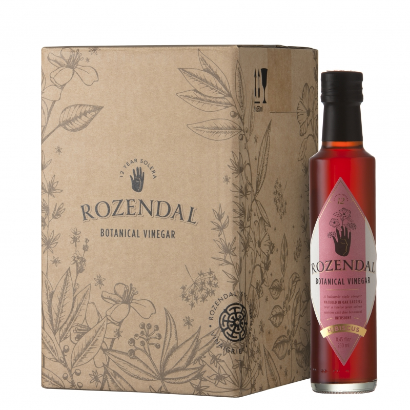 Rozendal 9 Bottle Box Hibiscus