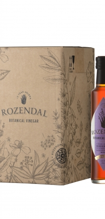 Rozendal 9 Bottle Case Lavender Vinegar