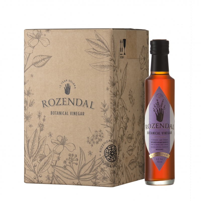 Rozendal 9 Bottle Box Lavender